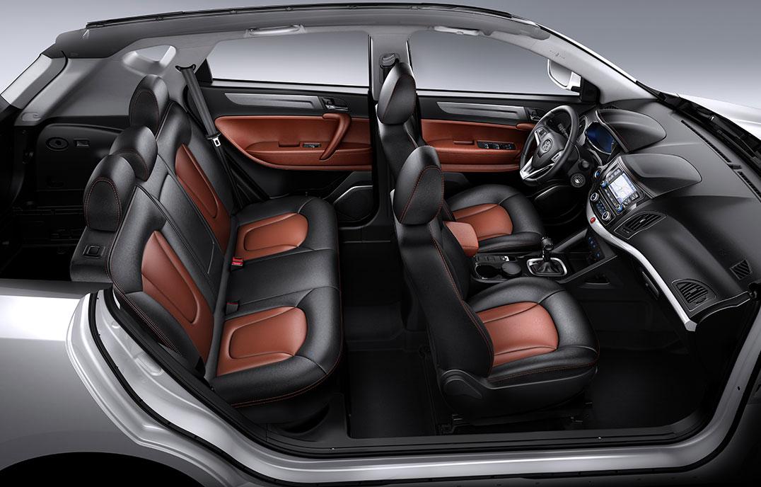 Кроссовер JAC S5 2021 новый кузов, цены, комплектации, фото 14