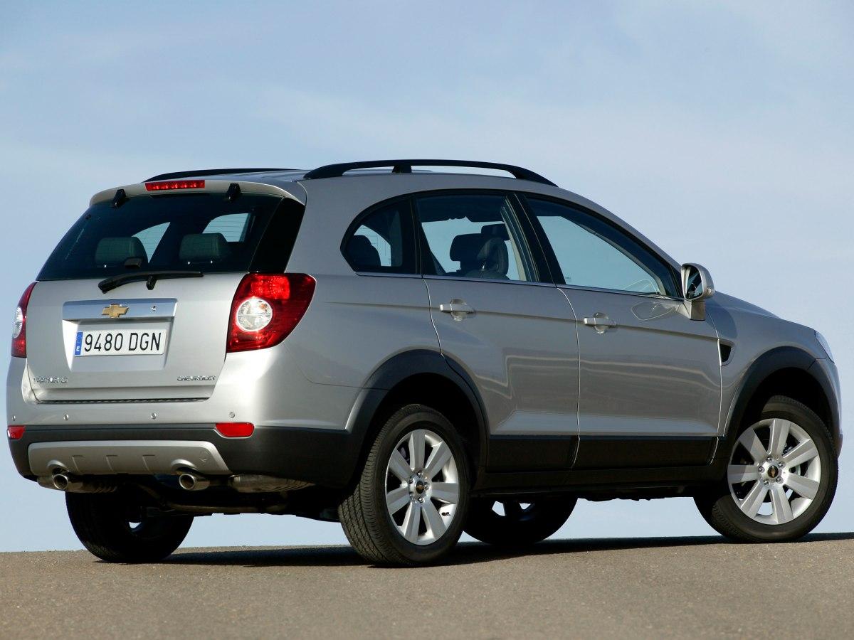 Технические характеристики Chevrolet Captiva | Колёса авто