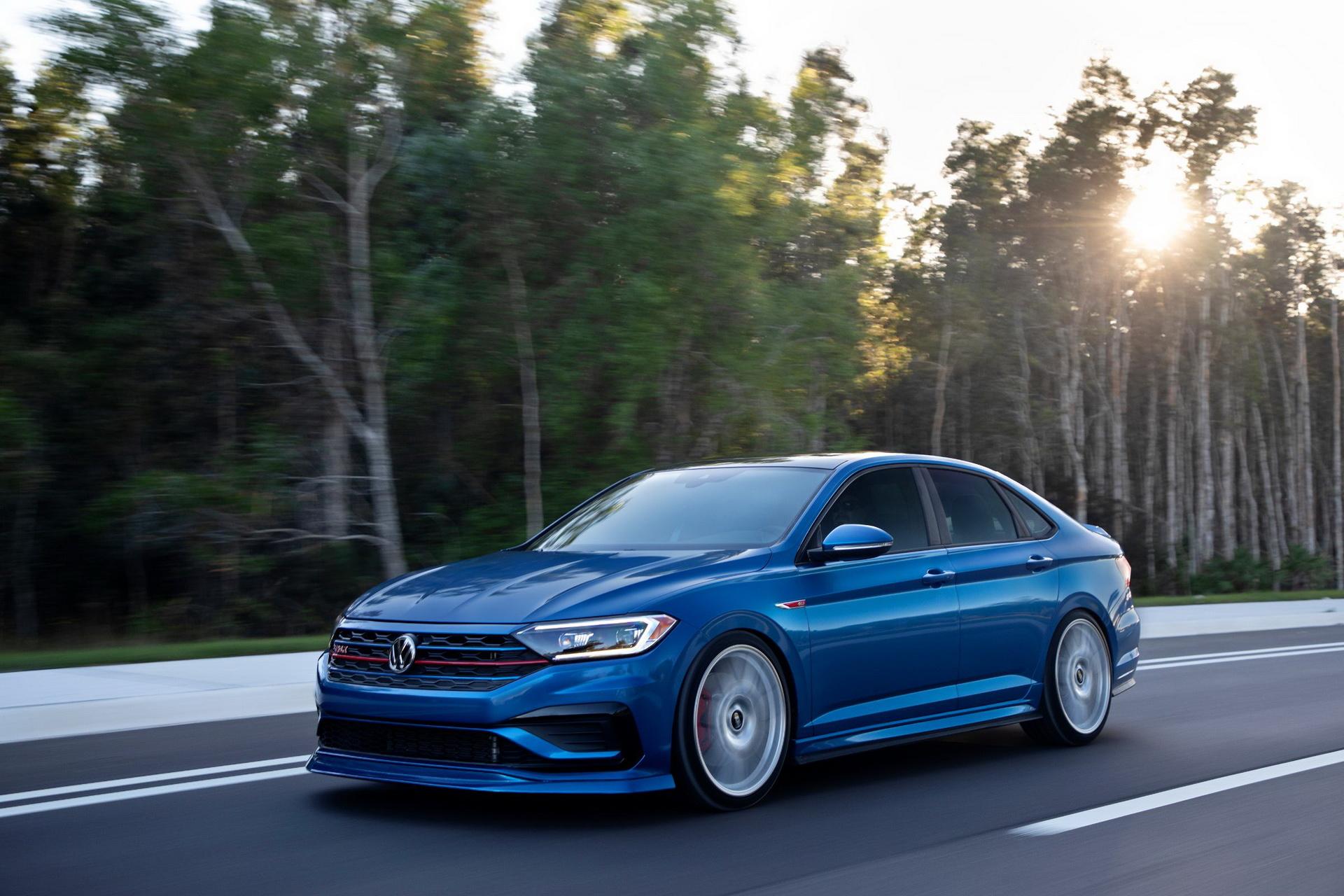 Компания Volkswagen готовит несколько концептуальных моделей. Первой стала Jetta GLI 2021 года