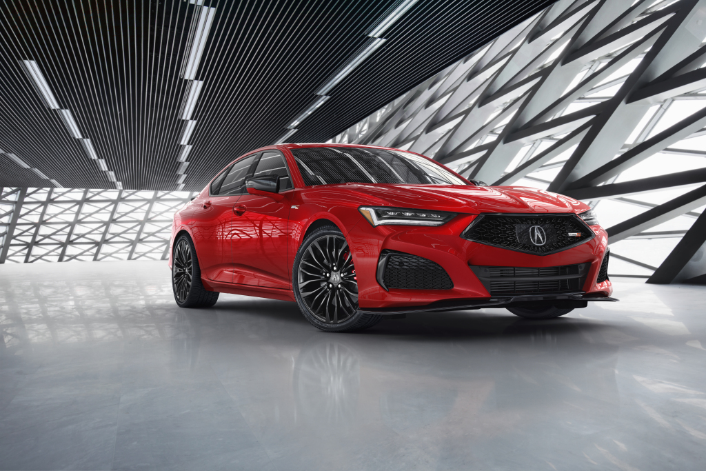 Компания Honda опубликовала официальные цены и список оборудования для нового Acura TLX Type S