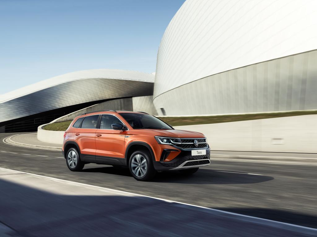 Новый кросс Volkswagen Taos для России: раскрыты комплектации самого дешевого немецкого паркетника