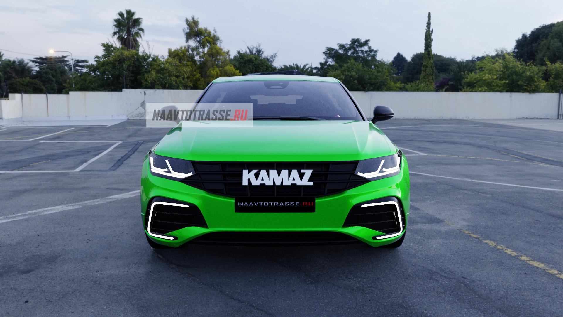Опубликованы первые изображения нового кросс-купе КамАЗ-6520 2021 с турбодвигателями от Mercedes-Benz