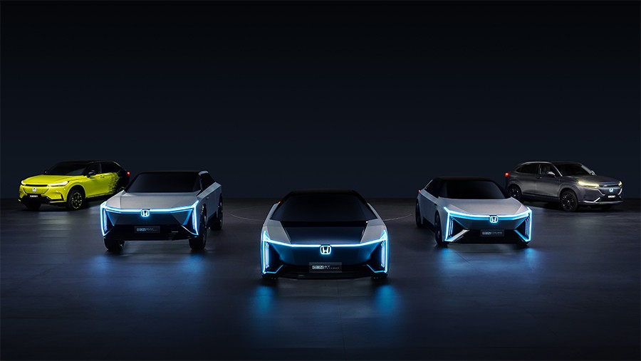 Honda випустить одразу п'ять моделей, дві з них — у 2022 році
